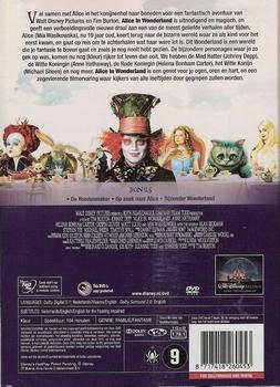 Disney DVD - Alice In Wonderland (2010)