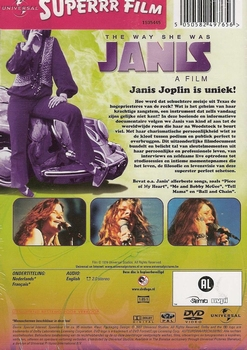 Documentaire DVD - Janis the way she Was