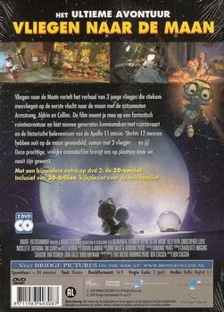 Animatie DVD - Vliegen naar de Maan (2 DVD 3D)