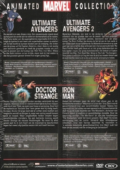 DVD box - Animated Marvel Collection (4 DVD)