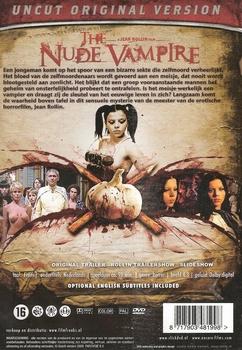 Horror DVD - The Nude Vampire