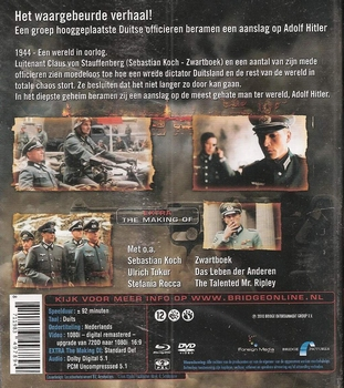 Oorlogsfilm Blu-ray - Operation Valkyrie