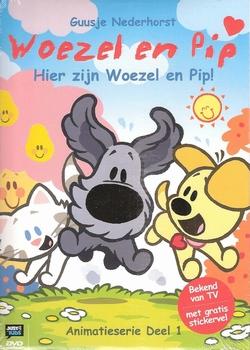 Animatie DVD - Woezel en Pip deel 1