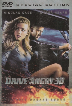 Actie DVD - Drive Angry 3D