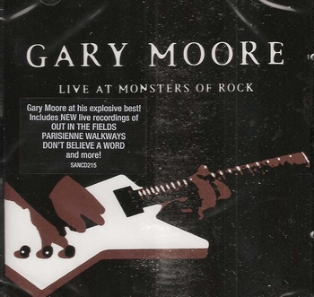 Muziek CD Gary Moore - Live at Monster Rock