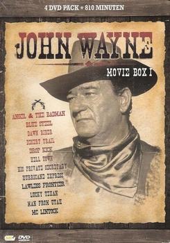 John Wayne DVD box - Movie box 1 (4 DVD)
