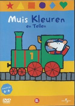 Kinder DVD - Muis Kleuren en Tellen