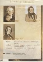 Goldline Classics DVD - Brahms - Schubert - Schumann