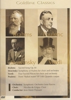 Goldline Classics - Brahms - Poulenc, Stravinsky, Verdi