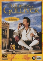 Avontuur DVD - The 3 Worlds of Gulliver