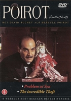 DVD TV series - Poirot Problem at Sea/The Incredible Theft