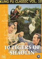 Kung Fu DVD 10 Tigers of Shaolin