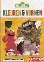 DVD Sesamstraat - Kleuren en Vormen