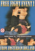 Vechtsport DVD Free fight event I